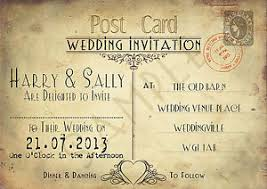Wedding Postcards Postcard Wedding Invitations Orionjurinform Com