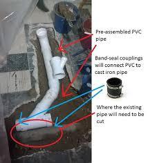basement bathroom plumbing fanciful venting need help diy 15
