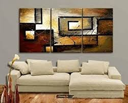 amazon com mon art 100 hand painted oil painting abstract art