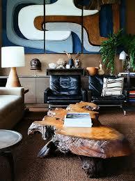 Atlantis Coffee Table Contemporary Living Room With Hardwood Floors Built In Bookshelf