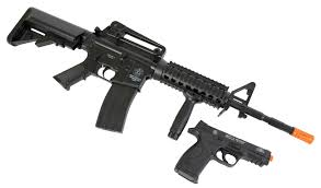 best airsoft black friday deals smith u0026 wesson m u0026p 15 elite series airsoft guns kit black clear