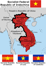 Southeast Asia Flags Sfr Indochina A Socialist Federation In Southeast Asia