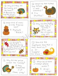 thanksgiving lunch box joke cards free printable happy home