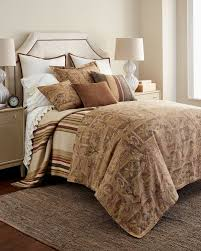 amazon com ralph lauren home bellosguardo brown u0026 cream linen