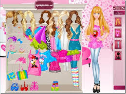 free and fun dress up games she will don makeup to be able to barbie dolls beginning with deciding on precisely what