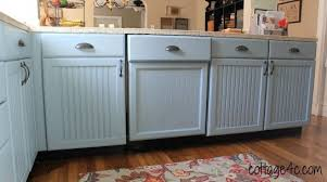 building a dishwasher cabinet dishwasher kitchen redo make it look like a build in by brenda at