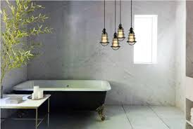 Bathroom Hanging Lights Great Hanging Lights For Bathroom Contemporary The Best Bathroom