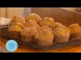 fall pumpkin doughnut muffins thanksgiving recipes martha