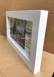 Home Decorations Wholesale by 18x36cm Shadow Box Frames Mdf White Picture Frame Home Decor