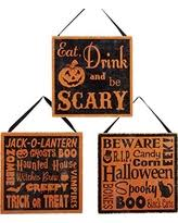 don u0027t miss this deal wooden halloween glitter signs