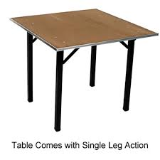 42 inch square folding table dporig42sq folding table 42 inch square x 30 inch plywood top