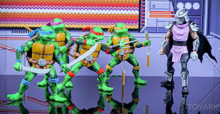 neca teenage mutant ninja turtles arcade sdcc 2016 figures