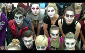 ancestor makeup day edmt u0027s the addams family youtube