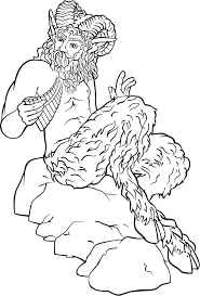 pan the goat footed greek god