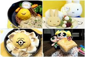 8 character cafes singapore minions miffy powerpuff girls