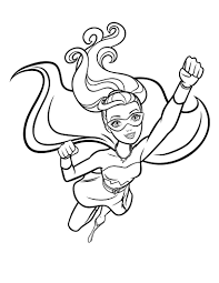 barbie princess power coloring pages download print free