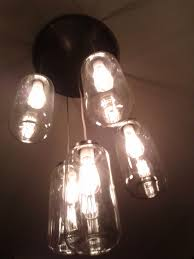 decorations large chandelier light fixutre made of glass