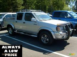 nissan frontier king cab 4x4 2000 nissan frontier xe crew cab 4x4 in silver ice 358252