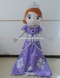 en71 mascot costume princess sofia sofia mascot