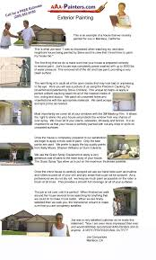 aaa painters com how we paint an exterior of a house
