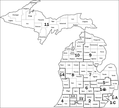 Map Michigan Counties by Image Gallery Mi Counties