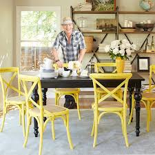 Grey And Yellow Chair 25 Dining Areas With Yellow Dining Chairs Home Design Lover