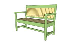 outdoor bench building plans bench decoration