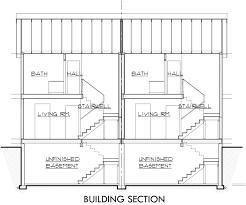 basement garage plans 59 duplex plans with garage and basement gallery for duplex floor