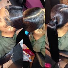 slick back weave hairstyles best 25 weave ponytail ideas on pinterest long ponytail weave