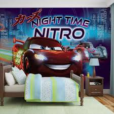 Car Themed Home Decor Disney Cars Window Curtains Pixar Toddler Decorations Lightning