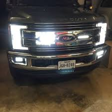2017 super duty clearance lights 2017 ford f250 f350 super duty led front turn signal bulbs upgrade