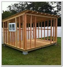 Small Wood Shed Plans by Lean To Shed Plans With Roof Sheeting Installed The Fascia Trim