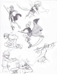 anime action sketches action sketches jazzie560 on deviantart