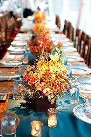 Fall Table Decorations For Wedding Receptions - 45 fall wedding centerpieces that inspire happywedd com