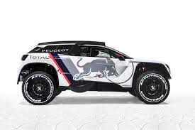 the new peugeot new racing car peugeot 3008 dkr 4wd magazine
