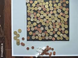 originelle hochzeitsgeschenke mit geld münzen auf tonkarton kleben basteln tonkarton