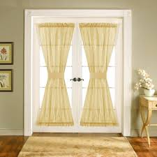 front door half window curtains treatments ideas image picture