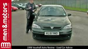 1998 vauxhall astra review used car advice youtube