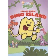 wow wow wubbzy escape dino island dvd video target
