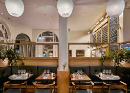 Avroko Interior Design Modern Pantry Restaurant Interior Reflects Founder U0027s Danish Roots