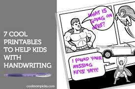 7 smart handwriting practice printables for kids pre k to teens