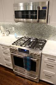 kitchen stove backsplash mosaic tiles inviting home design