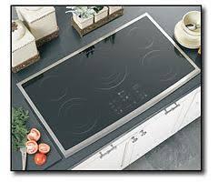 Ge Electric Cooktops Ge Profile Cleandesign 36