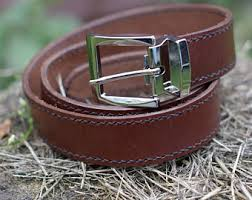 Natural Cowhide Leather Belt Blanks Leather Belt Strap Etsy