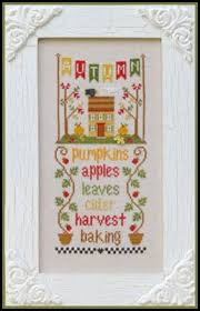 Country Cottage Needlework by Country Cottage Needleworks Autumn Seasonal Celebrations Cross