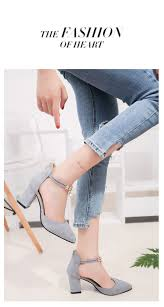 2017 summer women shoes pointed toe pumps dress shoes high heels