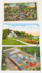Rock Garden Mn Vintage Lithograph Postcards Lot Albert Lea Mn Minnesota Linen