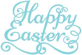 blue happy easter transparent png clip art image gallery