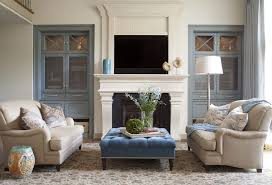 how to decorate glass cabinets in living room built in cabinet living room transitional with limestone fireplace