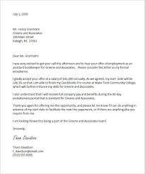 thank you letter for job offer job acceptance letter email sample